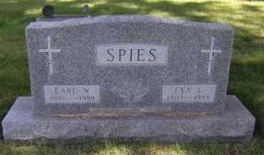 SPIES, EARL W - Moody County, South Dakota | EARL W SPIES - South Dakota Gravestone Photos