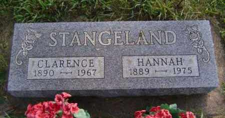STANGELAND, HANNAH - Moody County, South Dakota | HANNAH STANGELAND - South Dakota Gravestone Photos