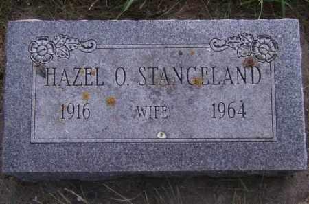 STANGELAND, HAZEL O - Moody County, South Dakota | HAZEL O STANGELAND - South Dakota Gravestone Photos