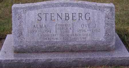 STENBERG, ALMA - Moody County, South Dakota   ALMA STENBERG - South Dakota Gravestone Photos