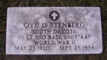 STENBERG, OVE D - Moody County, South Dakota   OVE D STENBERG - South Dakota Gravestone Photos