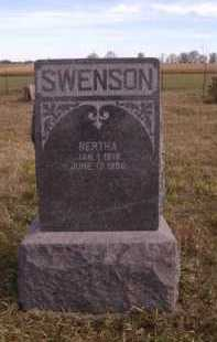 SWENSON, BERTHA - Moody County, South Dakota | BERTHA SWENSON - South Dakota Gravestone Photos