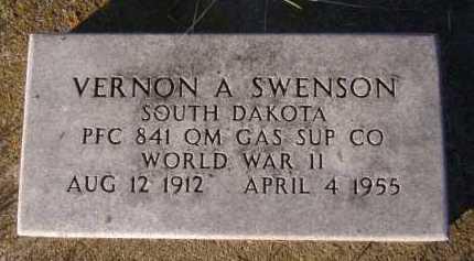SWENSON, VERNON A - Moody County, South Dakota | VERNON A SWENSON - South Dakota Gravestone Photos