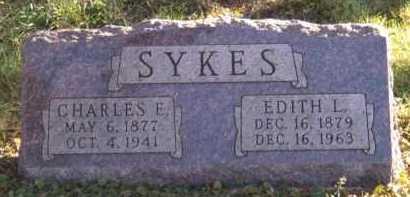 SYKES, CHARLES E - Moody County, South Dakota | CHARLES E SYKES - South Dakota Gravestone Photos
