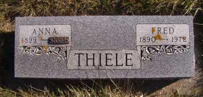 THIELE, FRED - Moody County, South Dakota | FRED THIELE - South Dakota Gravestone Photos