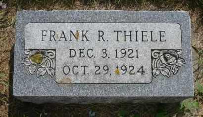 THIELE, FRANK R. - Moody County, South Dakota | FRANK R. THIELE - South Dakota Gravestone Photos