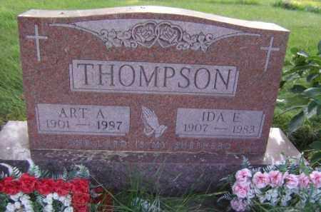 THOMPSON, IDA E - Moody County, South Dakota | IDA E THOMPSON - South Dakota Gravestone Photos