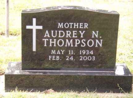 THOMPSON, AUDREY N - Moody County, South Dakota | AUDREY N THOMPSON - South Dakota Gravestone Photos