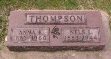 THOMPSON, NELS L - Moody County, South Dakota | NELS L THOMPSON - South Dakota Gravestone Photos