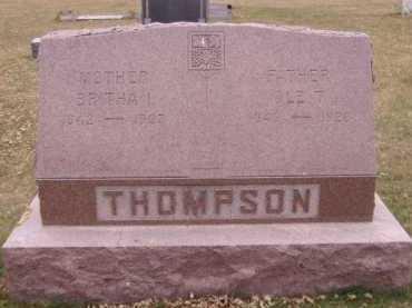 THOMPSON, BRITHA I - Moody County, South Dakota | BRITHA I THOMPSON - South Dakota Gravestone Photos