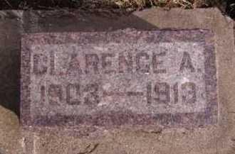 THOMPSON, CLARENCE A - Moody County, South Dakota | CLARENCE A THOMPSON - South Dakota Gravestone Photos