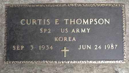THOMPSON, CURTIS E. (KOREA) - Moody County, South Dakota   CURTIS E. (KOREA) THOMPSON - South Dakota Gravestone Photos