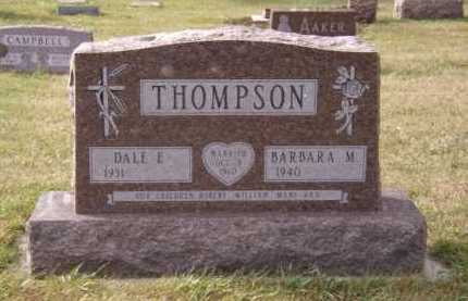 THOMPSON, DALE E - Moody County, South Dakota | DALE E THOMPSON - South Dakota Gravestone Photos