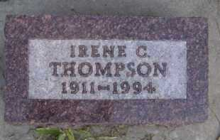 THOMPSON, IRENE C - Moody County, South Dakota | IRENE C THOMPSON - South Dakota Gravestone Photos