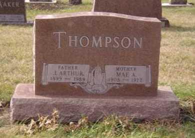 THOMPSON, MAE A - Moody County, South Dakota | MAE A THOMPSON - South Dakota Gravestone Photos