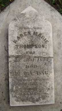 THOMPSON, KAREN MARIE - Moody County, South Dakota | KAREN MARIE THOMPSON - South Dakota Gravestone Photos