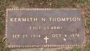 THOMPSON, KERMITH N - Moody County, South Dakota | KERMITH N THOMPSON - South Dakota Gravestone Photos