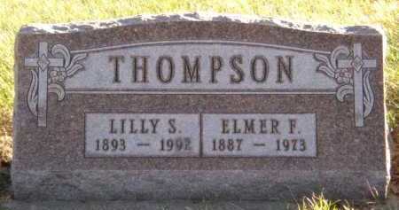 THOMPSON, ELMER F - Moody County, South Dakota | ELMER F THOMPSON - South Dakota Gravestone Photos