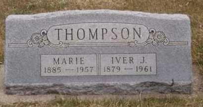 THOMPSON, IVER J - Moody County, South Dakota | IVER J THOMPSON - South Dakota Gravestone Photos