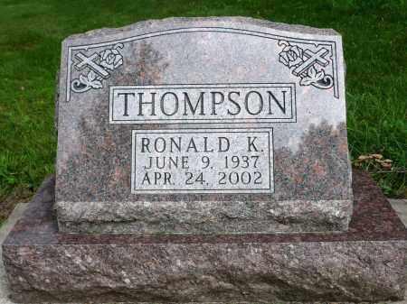 THOMPSON, RONALD K. - Moody County, South Dakota | RONALD K. THOMPSON - South Dakota Gravestone Photos