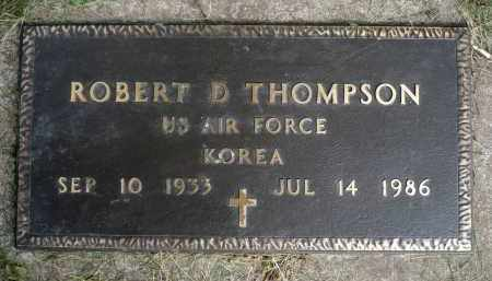 THOMPSON, ROBERT D. (KOREA) - Moody County, South Dakota | ROBERT D. (KOREA) THOMPSON - South Dakota Gravestone Photos