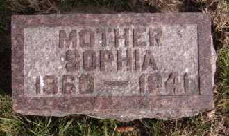 THOMPSON, SOPHIA - Moody County, South Dakota | SOPHIA THOMPSON - South Dakota Gravestone Photos