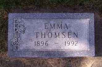 THOMSEN, EMMA - Moody County, South Dakota | EMMA THOMSEN - South Dakota Gravestone Photos