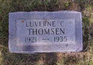 THOMSEN, LUVERNE C - Moody County, South Dakota   LUVERNE C THOMSEN - South Dakota Gravestone Photos