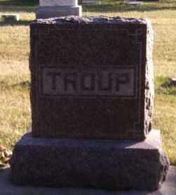 TROUP, FAMILY - Moody County, South Dakota | FAMILY TROUP - South Dakota Gravestone Photos