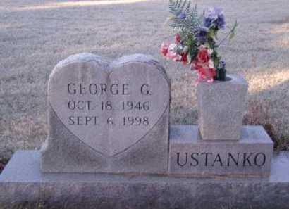 USTANKO, GEORGE G - Moody County, South Dakota | GEORGE G USTANKO - South Dakota Gravestone Photos
