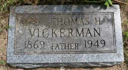 VICKERMAN, THOMAS H. - Moody County, South Dakota | THOMAS H. VICKERMAN - South Dakota Gravestone Photos