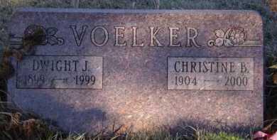 VOELKER, DWIGHT J - Moody County, South Dakota | DWIGHT J VOELKER - South Dakota Gravestone Photos