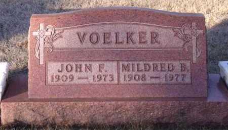 VOELKER, JOHN F - Moody County, South Dakota   JOHN F VOELKER - South Dakota Gravestone Photos