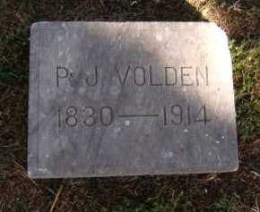 VOLDEN, P. J. - Moody County, South Dakota | P. J. VOLDEN - South Dakota Gravestone Photos