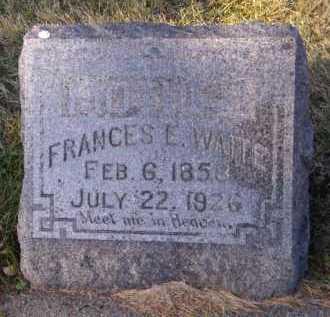 WAITE, FRANCES E - Moody County, South Dakota | FRANCES E WAITE - South Dakota Gravestone Photos