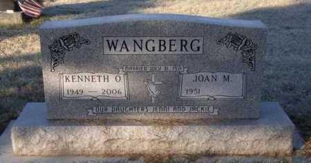 WANGBERG, KENNETH O - Moody County, South Dakota | KENNETH O WANGBERG - South Dakota Gravestone Photos