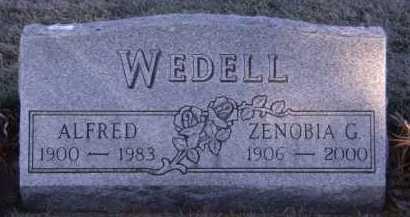 WEDELL, ZENOBIA G - Moody County, South Dakota | ZENOBIA G WEDELL - South Dakota Gravestone Photos