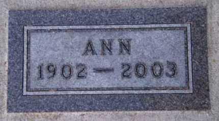 WEDELL, ANN - Moody County, South Dakota | ANN WEDELL - South Dakota Gravestone Photos