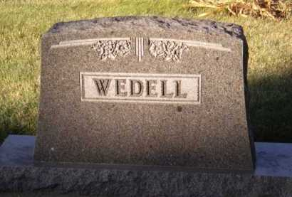 WEDELL, FAMILY - Moody County, South Dakota | FAMILY WEDELL - South Dakota Gravestone Photos