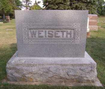 WEISETH, FAMILY - Moody County, South Dakota   FAMILY WEISETH - South Dakota Gravestone Photos