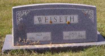 WEISETH, EDWIN A - Moody County, South Dakota | EDWIN A WEISETH - South Dakota Gravestone Photos