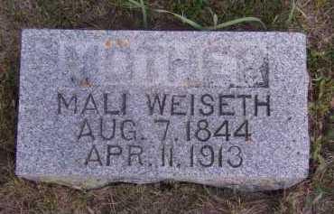 WEISETH, MALI - Moody County, South Dakota   MALI WEISETH - South Dakota Gravestone Photos