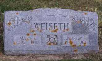 WEISETH, ANDREW P - Moody County, South Dakota | ANDREW P WEISETH - South Dakota Gravestone Photos