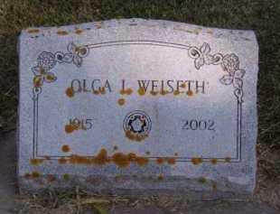 WEISETH, OLGA L - Moody County, South Dakota | OLGA L WEISETH - South Dakota Gravestone Photos
