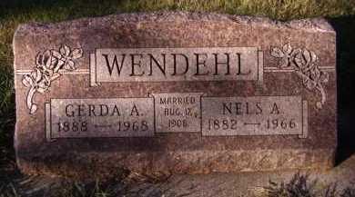 WENDEHL, NELS A - Moody County, South Dakota | NELS A WENDEHL - South Dakota Gravestone Photos
