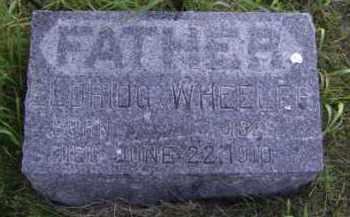 WHEELER, ELDRIDG - Moody County, South Dakota | ELDRIDG WHEELER - South Dakota Gravestone Photos