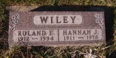 WILEY, ROLAND E. - Moody County, South Dakota | ROLAND E. WILEY - South Dakota Gravestone Photos