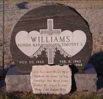 WILLIAMS, VONDA KAY - Moody County, South Dakota | VONDA KAY WILLIAMS - South Dakota Gravestone Photos