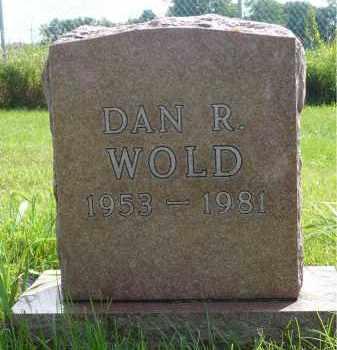 WOLD, DAN R. - Moody County, South Dakota | DAN R. WOLD - South Dakota Gravestone Photos