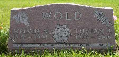 WOLD, LILLIAN B. - Moody County, South Dakota | LILLIAN B. WOLD - South Dakota Gravestone Photos